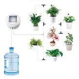 Ensemble de dispositif d'arrosage automatique de jardin intelligent de charge d'énergie solaire Ensemble d'outil d'arrosage d'irrigation goutte à goutte d'arrosage de fleurs Système de minuterie d'eau