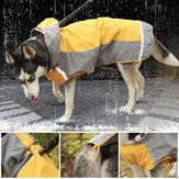 ペット大型犬レインコート防水服用小型大型犬ジャンプスーツレインコートフード付きオーバーオールマントラブラドール
