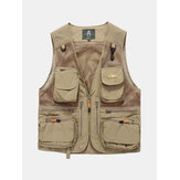 Outdoor Utility Fishing Reporter Photography Loose Vest