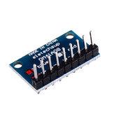 5 Stück 3,3 V 5V 8 Bit Blau Gemeinsame Kathode LED Anzeigemodul DIY Satz
