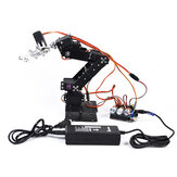 Small Harmmer DIY 6DOF Metal RC Robot Arm With  Develop Board MG996 Servo