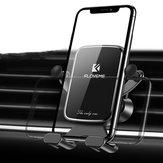 Floveme垂直水平重力リンケージ自動ロックエアベント車の電話ホルダー4.7-7.0インチスマートフォンiPhone XS最大Samsung注10+ S10 +