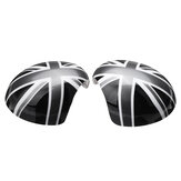 Union Jack Car Wing Mirror Cover Pair para MINI Cooper R55 R56 R57 R60 Poder Modelo Dobra