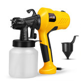 400W Portable High Pressure Paint Sprayer Adjustable Valve Knob Electric Spray G un Painting Power Tool