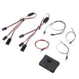 Killerbody 48742 LED Light Unit Set w/ Control Box for 1/10 SUBARU BRZ R&D SPORT RC Car Shell
