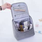 Portable Travel Cosmetic Bag With Hooks Large-capacity Cosmetic Organizer
