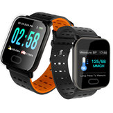 Bakeey A6 Sleep HR Blodtryk Oxygen Monitor Camera Control Smart Watch