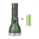 [Roestvrijstalenring]Astrolux®FT03SST40-W 2400lm 875m Type-C Oplaadbare zaklamp + HLY 26650 5000mAh 3C Power-batterij