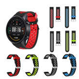 22mm Dual Color Silicone Strap Watch Band Watch Strap for Xiaomi Watch Color