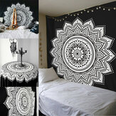Indian Ethnic Dorm Decor Wall Hanging Hippie Mandala Tapestry Bohemian Bedspread Decorations