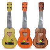Klasik Ukulele Eğitim Enstrüman Oyuncak Çocuk Müzik Aydınlanma için