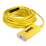 5M WiFi 8LED ضد للماء Borescope Inspection Snake Tube الة تصوير لـ هاتف