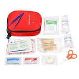 100 Adet İlk Yardım Kit SOS Acil Survival Kit Outdoor Kampçılık Hayatta Kalmak Çanta
