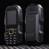 W2025 Rugged Feature Phone Dual SIM 32 MB + 32 MB bluetooth Torch Big Speaker Long Stand-by 2,0 polegadas