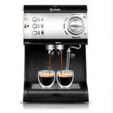 Donlim DL-KF6001 Máy pha cà phê bán tự động hoàn toàn Steam Steam Bọt Thương mại ngay lập tức