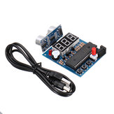 51Single Chip + HC-SR04 Ultrasonic Ranging Sensor Module Ultrasonic Range Finder Reversing Radar Alarm with Display