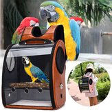 Pet Parrot Bird Carrier Travel Backpack Space Capsule Transparent Sac à main Sac