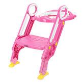 Super Safe Antidérapant Soft Enfants Enfant Toilette Chaise Siège Échelle Étape Pot Formation