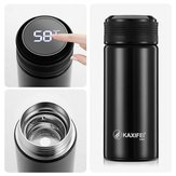 K916 300ML Smart Stainless Steel Insulation Vacuum Bottle LED Touch Screen Temperature Display Vacuum Cup IPX7 Waterproof Thermal Bottle