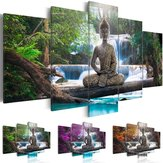 5P Stampa su tela Picture Modern Wall Art Decorations Home Zen Landscape Painting