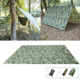 Ultralight Camping Beach Awning Tent Outdoor Shelter Tarpaulin 100x145cm/230x140cm