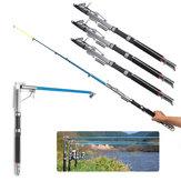 ZANLURE 2.1 / 2.4 / 2.7m Telescópico automático pesca Caña Sea River Lake pesca Caña de spinning