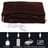 Warmtoo 45x80cm Car Home Electric Warming Heating Blankets Pad Shoulder Neck Heating Shawl USB Soft 5V 4W Winter Warm Health Care