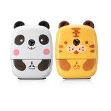 Practical Tiger Panda Mini manual em forma de animal Apontador de lápis Presentes Office School Alunos Artigos de papelaria