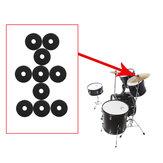 10 Packs IRIN MD139 Prato de tambor de feltro pad proteção rodada separador esteira de tambor para brácteas