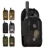 Walkie Talkie Bolsa Outdoor Molle Tactical Storage Bolsa Kit de Sobrevivência