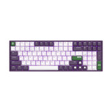 iQunix F96 Joker 100 teclas 96% Layout NKRO USB Wired Cherry MX Switch PBT Keycaps RGB Mecânico Teclado de jogos para PC laptop