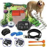 Perro amigable Mascota subterránea Cerca electrónica Impermeable Sistema de collar de choque de cerca 300 metros para One Perro