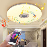 60W Smart LED Plafonnier RGB bluetooth Musique Haut-Parleur Dimmable Lampe APP À Distance