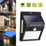 100 LED Luz solar PIR Motion Sensor Segurança Outdoor Garden Wall Light