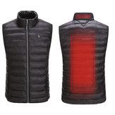 USBの電気ベストは布のジャケットを暖めます加熱パッドを熱しました