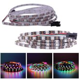 DC5V 2M étroit 5MM largeur WS2812B 5050 60LED / M IP20 individuel adressable RVB Dream Color Light LED