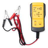 AE100 12V Car Relay Tester Automotive Battery Diagnostic Tool 4PIN 5PIN Fast Testing with Clips