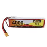 ZOP Power 7.4V 4000mAh 70C 2S Lipo Battery XT60 Plug for RC Drone