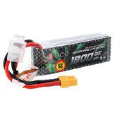 Gens ace 1800mAh 20C 11.1V 3S1P Lipo Bateria T / XT60 Plug para todos os modelos Trx4 1/16 VXL