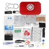 241 Pcs Kit de Primeiros Socorros Sobrevivência de Emergência Bolsa Travel Camping Trauma Medical Bolsa