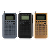 Portable Digital LCD FM / AM 2 Banda Stereo Radio Mini Pocket ricevitore con Auricolare