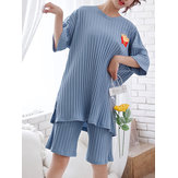 Plus Size Cotton Pajama Sets