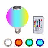 AC100-245V 12W RGBW LEDワイヤレスBluetoothスピーカー電球音楽再生ランプ+リモートコントロール
