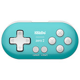 8Bitdo Zero 2 Mini bluetooth Gamepad Controlador de jogo para Nintendo Switch para Windows Android para mac OS Steam Raspberry Pi
