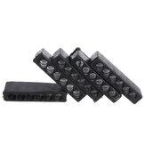 5 unidades 6 ou 10 furos chave de fenda hexagonal para armazenamento de ferramentas de armazenamento de cabeça de chave de fenda
