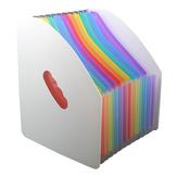 13 Ebenen Datenverwaltung Dokumentordner A4 Papierordner Rainbow Mini Organ Clip