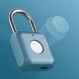 Youdian Waterproof Smart Fingerprint Padlock Door Lock From Eco-System