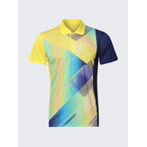 Mens Colorful Quick Drying Sports Gym T-shirts Slim Fit Short Sleeve T-shirt