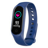 Bakeey M4S Heart Rate Blood Pressure O2 Monitor Multi-sport Modes Call Rejection USB Charging Smart Watch