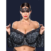 Plus Ukuran K Cup No Padding Full Coverage Women Bras